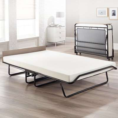 Jay-Be Supreme Folding Bed with Rebound Mattress - 2ft6 Small Single