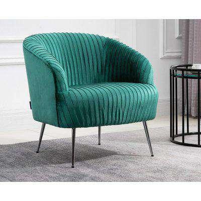 Layla Green Fabric Chair