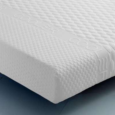 Ocean Gel Memory and Reflex Foam Cool Orthopaedic LayGel Mattress - European Single (90 x 200 cm)