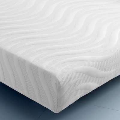 Ocean Gel Pocket 2000 Memory and Reflex Foam Individual Sprung Orthopaedic Mattress - European Single (90 x 200 cm)