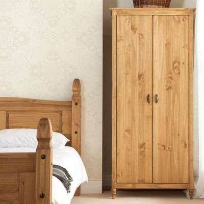 Pembroke Pine 2 Door Wardrobe
