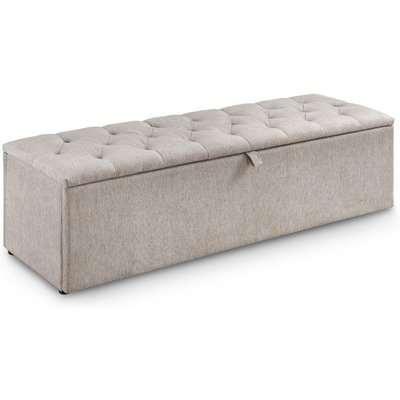 Ravello Mink Fabric Blanket Box