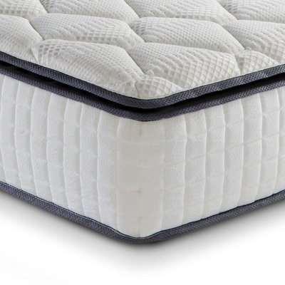 Sleep Soul Bliss 800 Pocket Spring and Memory Foam Pillowtop Mattress - 4ft6 Double (135 x 190 cm)