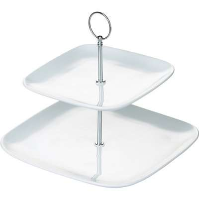2 Tier Square Cake Stand