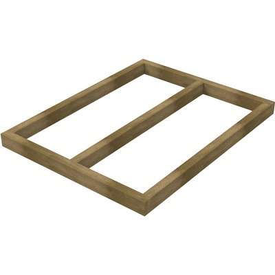 4x3ft Forest Wooden Shed Base for Forest Shiplap and Tongue & Groove Sheds
