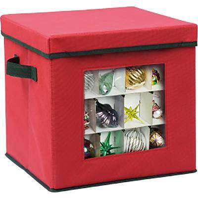 Adjustable Ornament Storage box