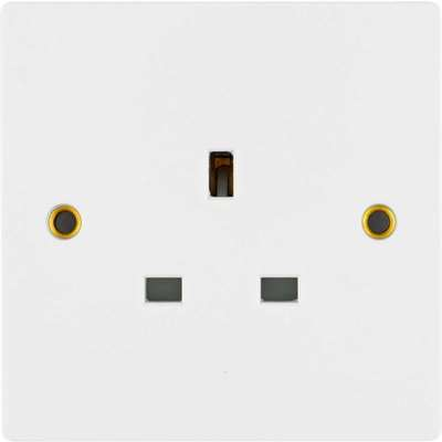 Arlec 13A 1 Gang Unswitched Socket