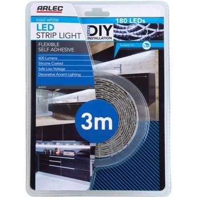 Arlec 3m Cool White LED Strip Light