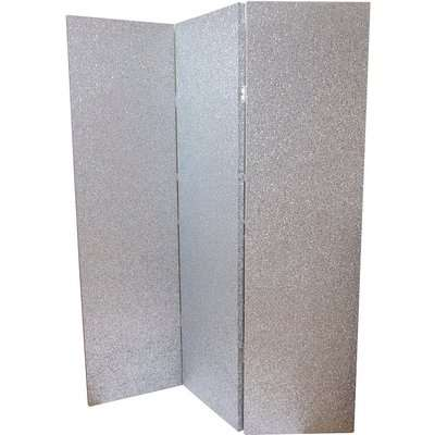 Arthouse Sequin Room Divider - Silver