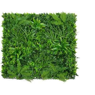 Artificial Greenfoliage Wallhedge Purple