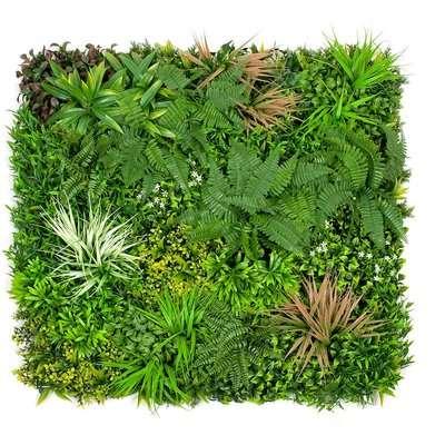 Artificial Mixed Fernpink Leaf Wall