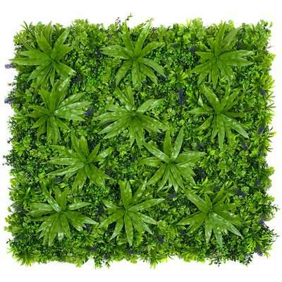 Artificial Mixed Leaf Foliage Wall Hedge