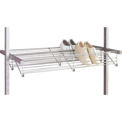 Aura Wardrobe Storage Steel Shoe Rack