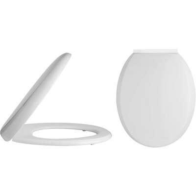Balterley Standard Round Soft Close Toilet Seat - Top Fix