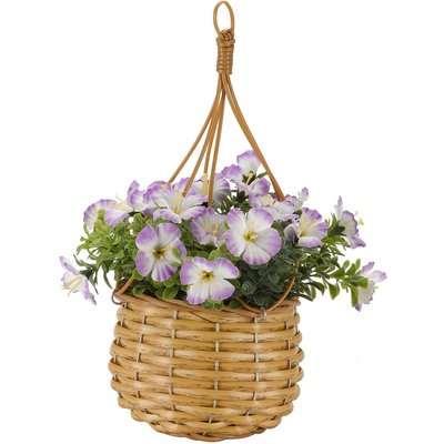 Basket Bouquet Blossom - 31x23cm