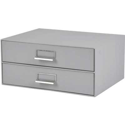 Cardboard 2 Drawer Desk Organiser