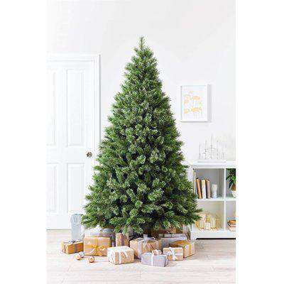 7ft Green Cashmere Artificial Christmas Tree