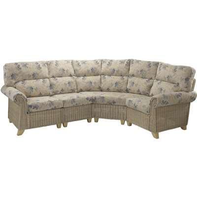 Clifton 4 Piece Modular Sofa In Oasis