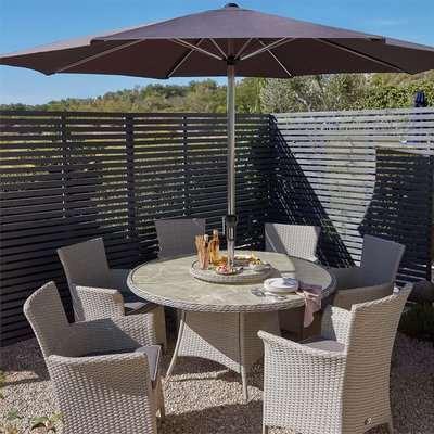 Cornbury 6 Seater Garden Dining Set
