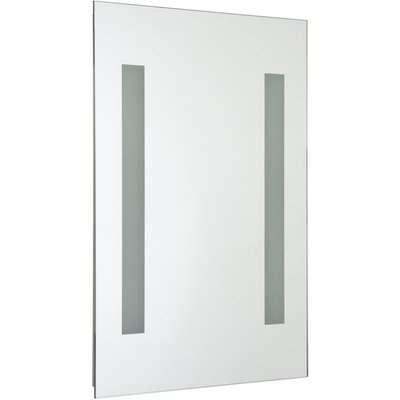 Croydex Malham Battery Operated Illuminated Bathroom Mirror
