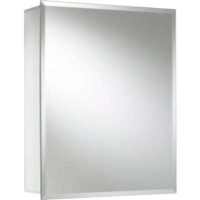 Croydex Winster Single Door Aluminium Bathroom Cabinet