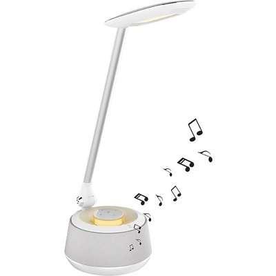 Decotech Bluetooth Speaker LED Desk Lamp