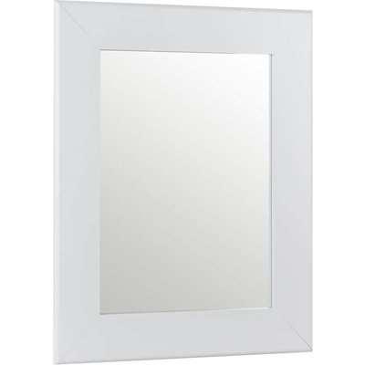 Everett Framed Mirror White 44x54cm