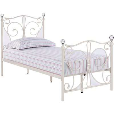 Florence Single Bed - White