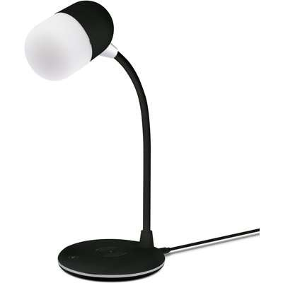 Groov-E Apollo Desk Lamp with Speaker and Wireless Charging Pad