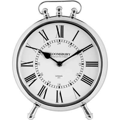 Hampstead Table Clock - Silver