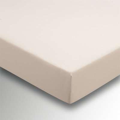 Helena Springfield Plain Dye 36cm Deep Fitted Sheet- Super King - Linen