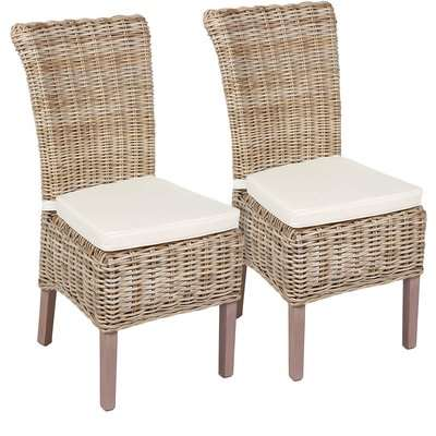 Holywell Dining Chairs with Cushion - Set of 2