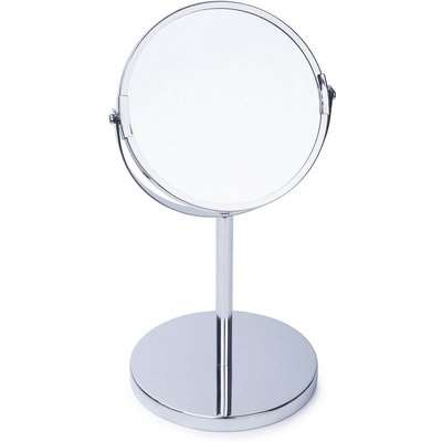 Home Design 15cm Bathroom Mirror - Chrome
