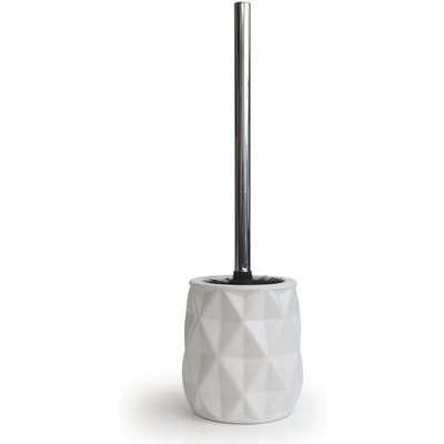 Home Design Geo Toilet Brush - White