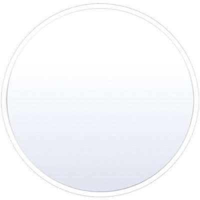 Home Design Round 45cm Bathroom Mirror - White