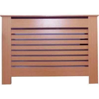 Horizontal Oak Radiator Cover - Small