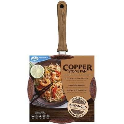JML Copper Stone Wok Pan
