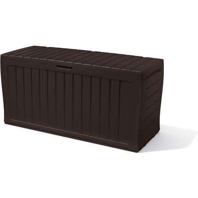 Keter Marvel Plus Outdoor Garden Storage Box 270L - Brown