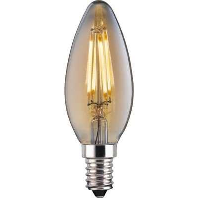 LED Filament Candle 4W E14 Vintage Light Bulb