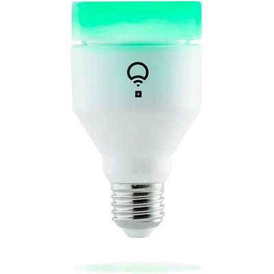 LIFX + (E27) Wi-Fi Smart LED Light Bulb with Infrared for Night Vision