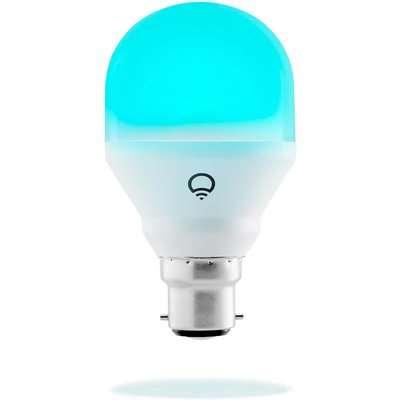 LIFX Mini (B22) Wi-Fi Smart LED Light Bulb - Colour