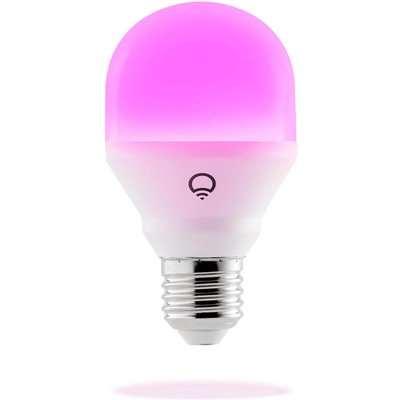 LIFX Mini (E27) Wi-Fi Smart LED Light Bulb - Colour