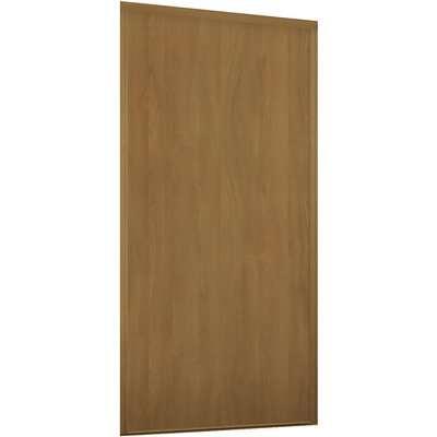 Loft Sliding Wardrobe Door Oak Panel with Oak Effect Frame (W)762mm