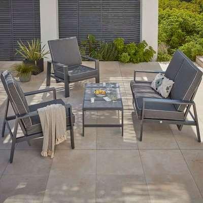 Magna Reclining Garden Sofa Set