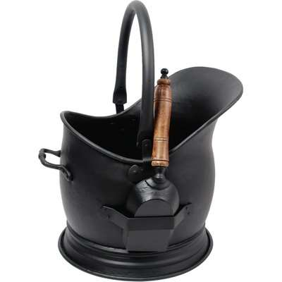 Mansion Coal Bucket with Shovel