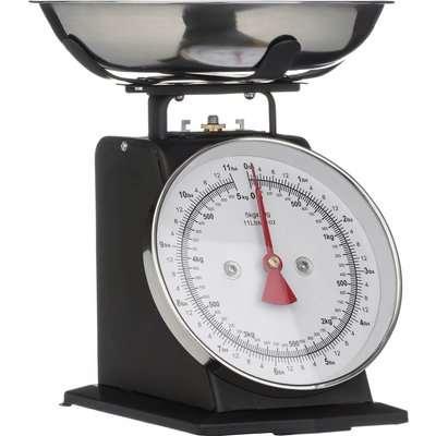 Matt Black Standing Kitchen Scale Matt - 5kg