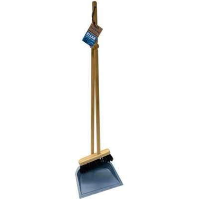 MCS Long Handled Dustpan and Brush Set