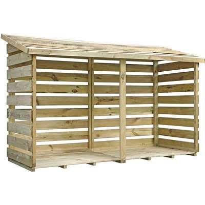 Mercia Premium Double Log Store (Installed)