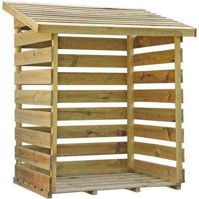 Mercia Single Log Store