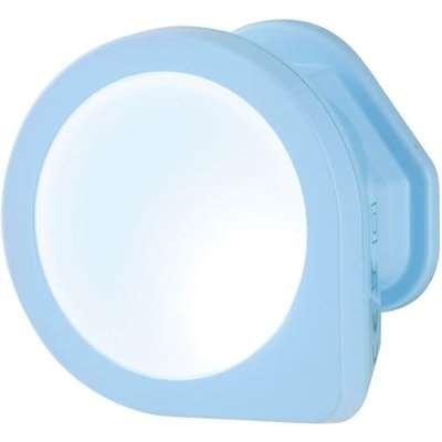 Mini Q Shaped Auto LED Night Light Blue